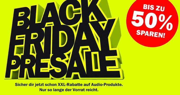Teufel Black Friday Presale 2017
